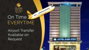 airport transfer at suba hotels