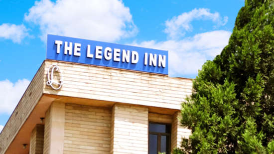 The Legend Inn, Delhi - Facade