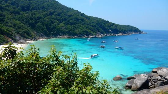 Similan Islands near Natai beach resort