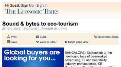 Our Native Village Bengaluru in the news press our native village bangalore eco resort 7