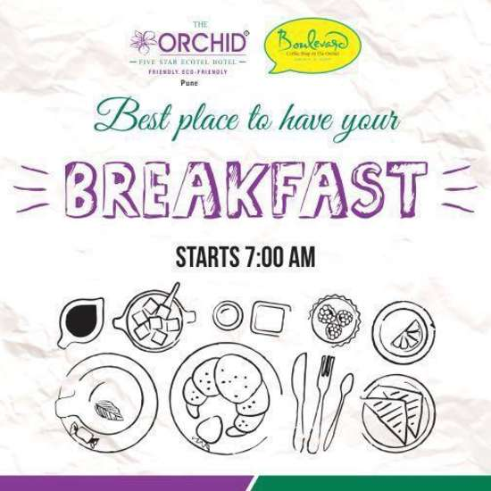 The Orchid Hotel, Pune Pune Breakfast Offer The Orchid Hotel Pune