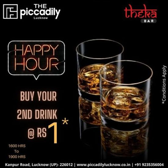Happy Hours at Theka