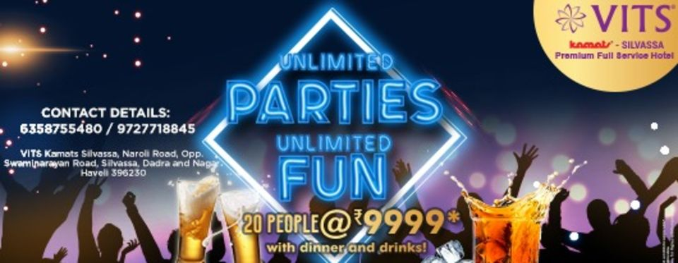 Unlimited party silvassa