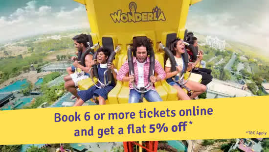 Wonderla Amusement Parks & Resort  Offer-banner 1