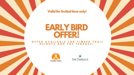 Early birds sales 1 1