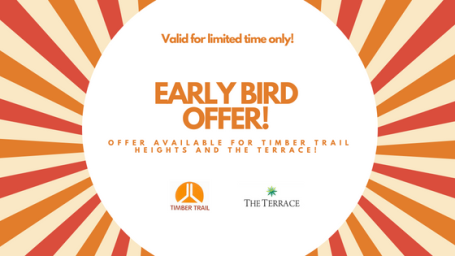 Early birds sales 1 2