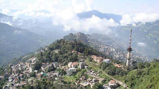 Ganesh Tok Viewpoint The Royal Plaza Hotel Gangtok