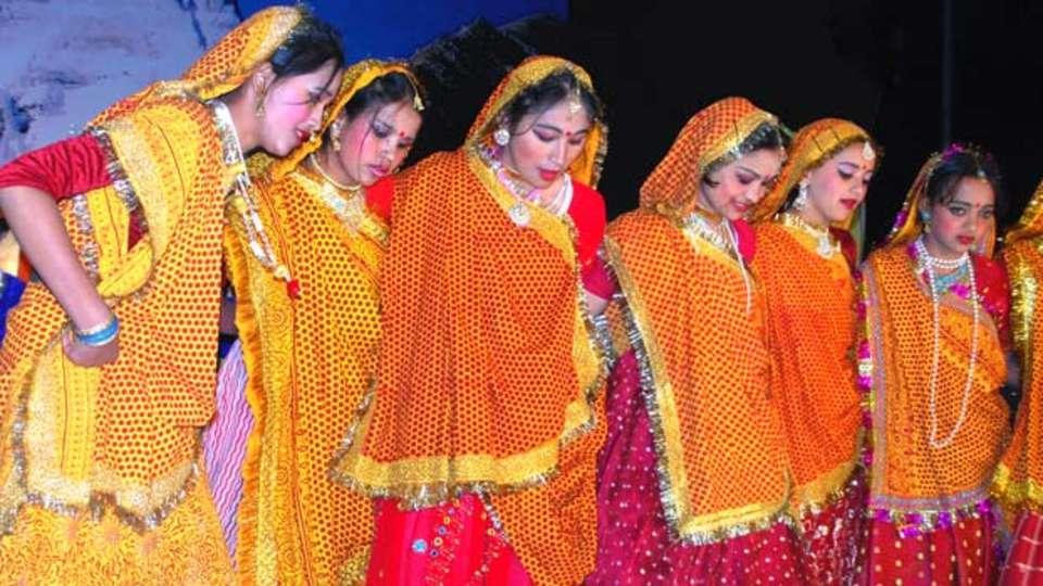 Yamunotri, Gangotri, Kedarnath & Badrinath uttarakhand Uttarakhand Cultural Dance