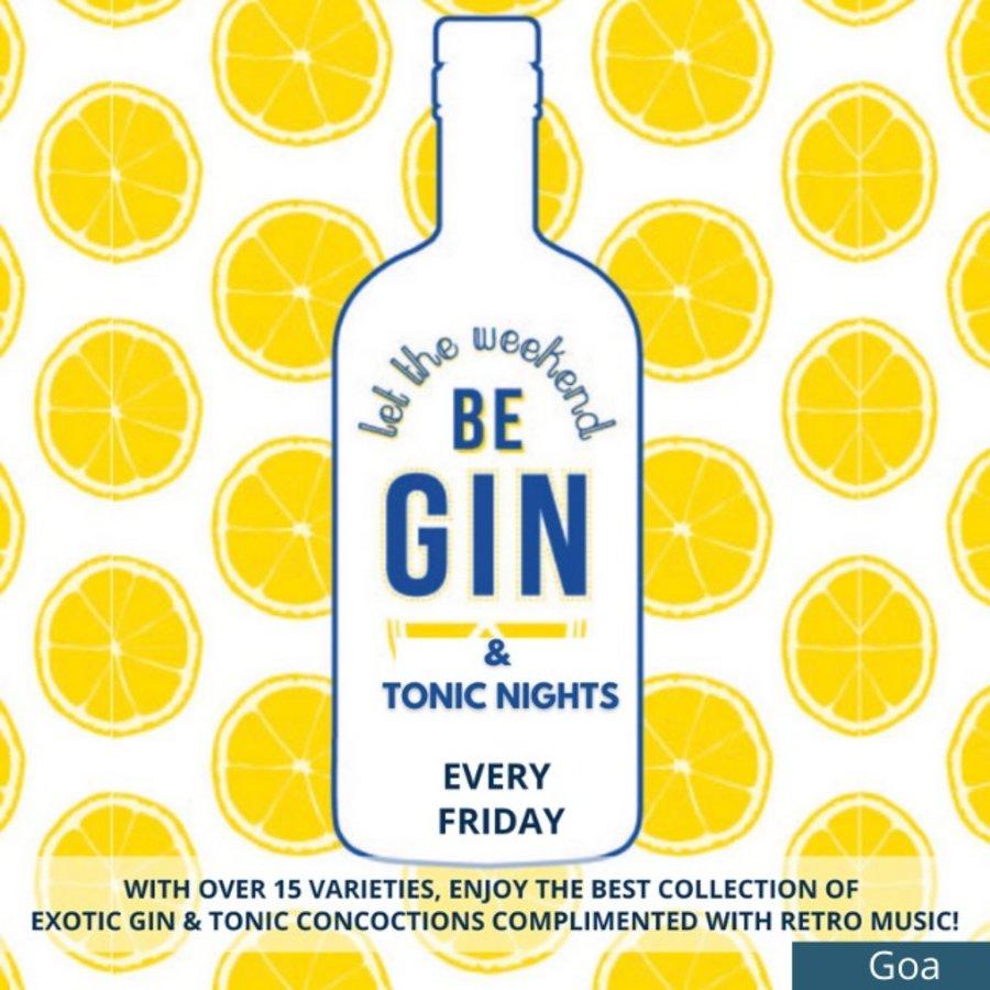 Gin Tonic Night Goa