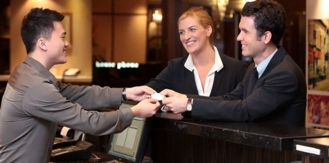 Eary Check in For corporates man At Iris Hotel