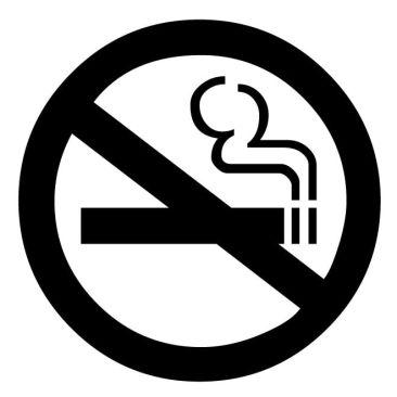 Non-smoking rooms