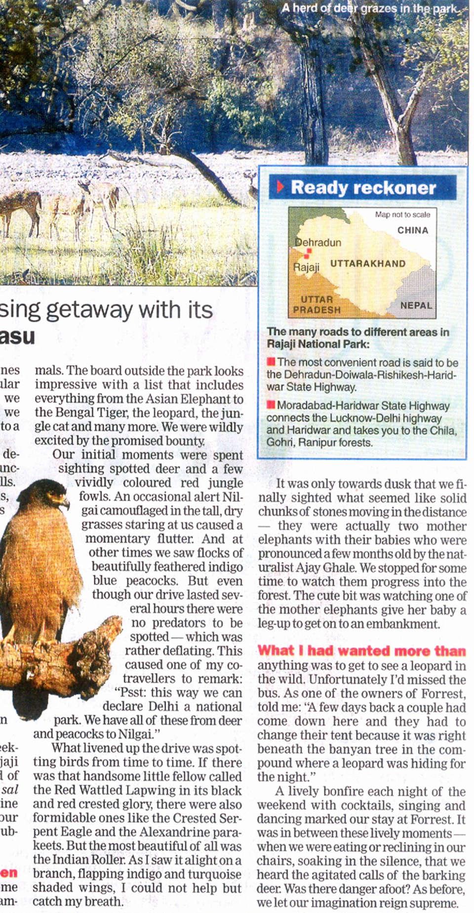 The Haveli Hari Ganga Hotel, Haridwar Haridwar Media Coverage 5 of The Haveli Hari Ganga Hotel Haridwar