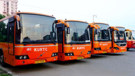 Wonderla Amusement Parks & Resort  KURTC buses