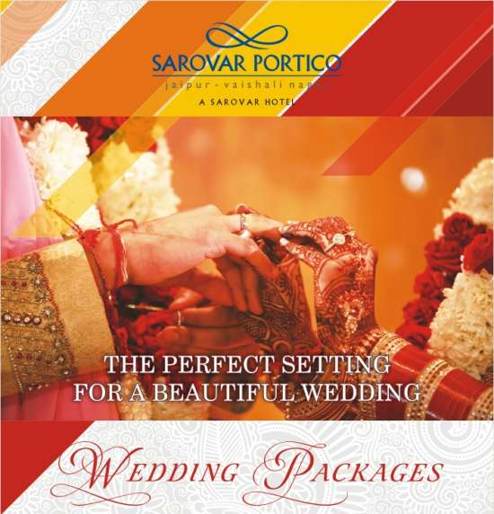Wedding Package Sarovar Portico 02