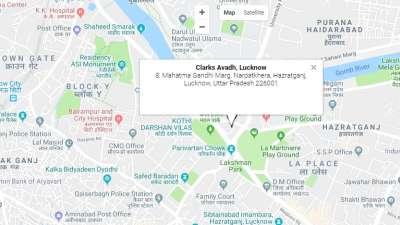 Location-Clark Avad Lucknow