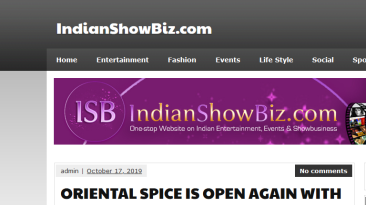 Oriental Spice at Pride Plaza Hotel Date.17-10-2019 Indian Show Biz Com.