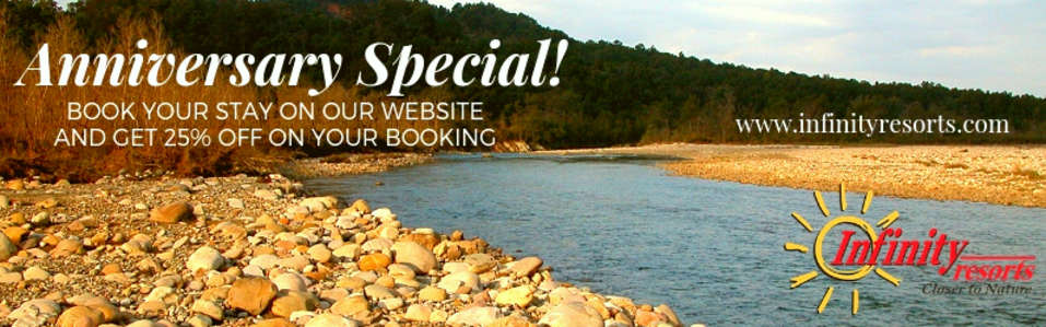 25th Anniversary offer at Infinity Resorts
