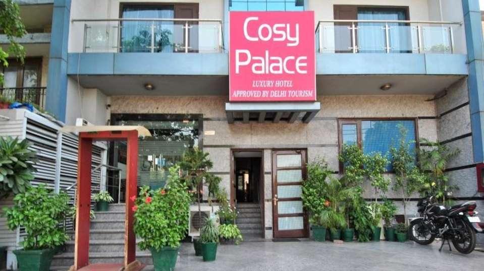 Hotel Cosy Palace, East of Kailash New Delhi facade hotel cosy palace east of kailash new delhi 2