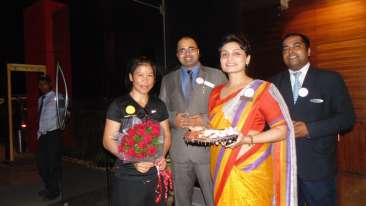 Mary Kom, The Orchid Hotel, Celebrities In Pune Hotels 2