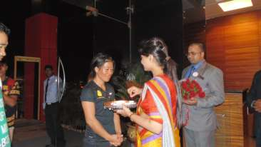 The Orchid Hotel, Pune Pune Mary Kom