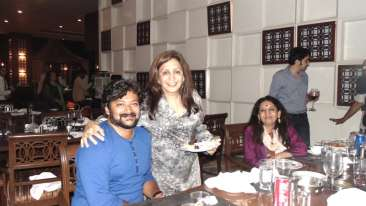 Vandana Gupte, The Orchid Hotel, Celebrities In Pune Hotels