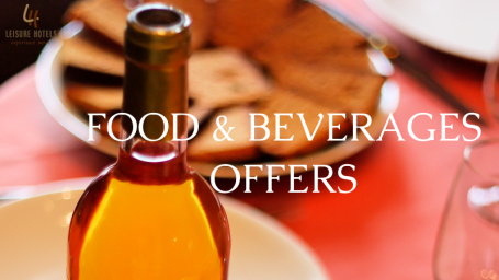 Leisure Hotels  food and beverages offers