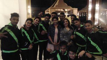 Sai Tamekar, The Orchid Hotel, Celebrities In Pune Hotels