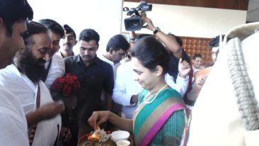 Sri Ravi Shanker,The Orchid Hotel, Celebrities In Pune Hotels