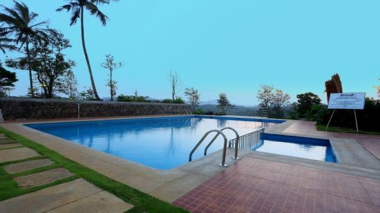 Swimming Pool at our luxury resort in Wayanad, Parisons Plantation Experiences by Abad, Wayanad-19