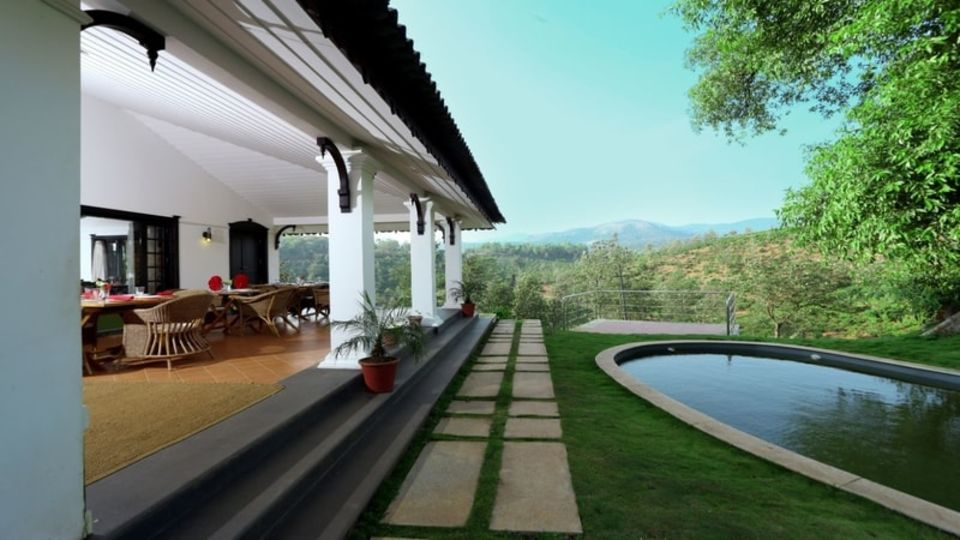Indoor Swimming Pool At Parisons Plantation Experiences by Abad, Luxury Resort in Wayanad