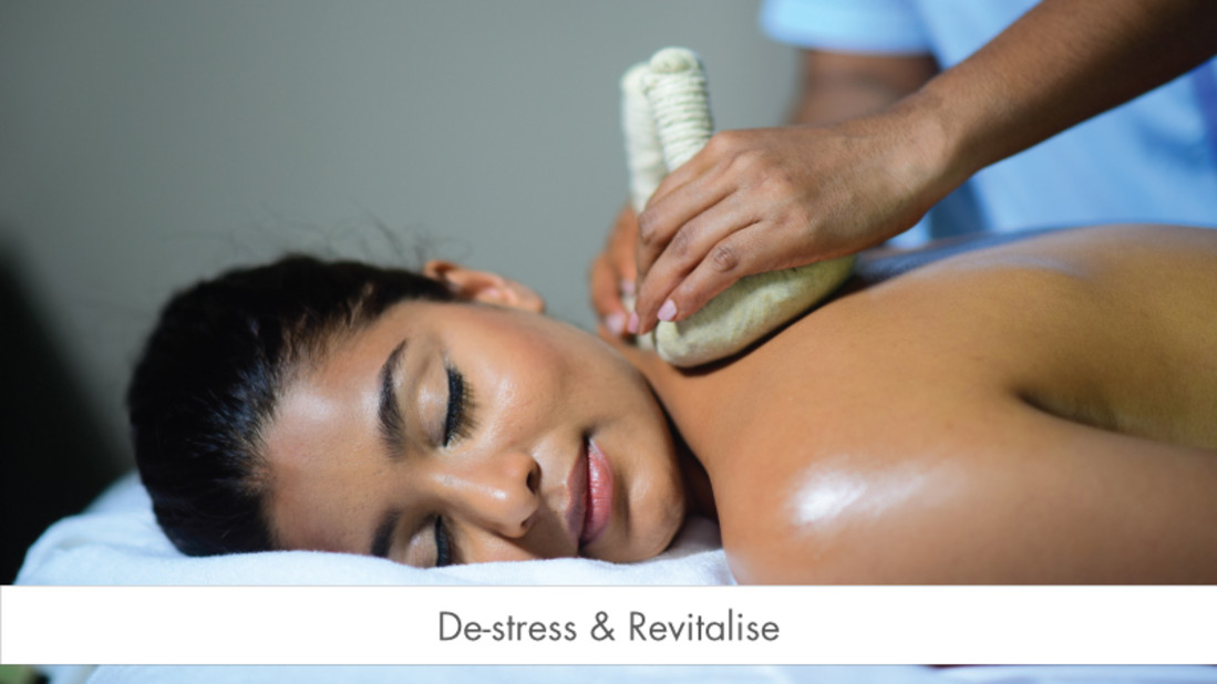 De-stress- -Revitalise