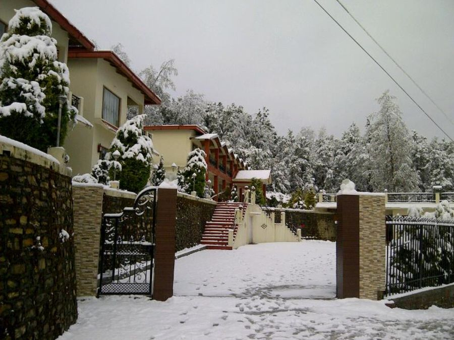 alt-text Ojaswi Resort Chaukori Chaukori Snow Capped Ojaswi Hotel and Resort in Chaukori