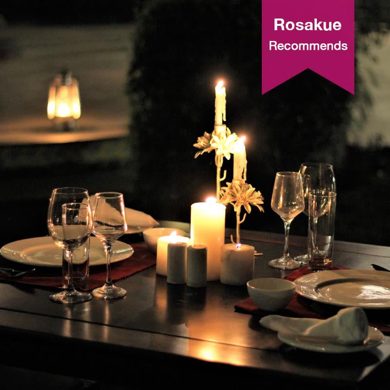 Starlit Dinner Rosa