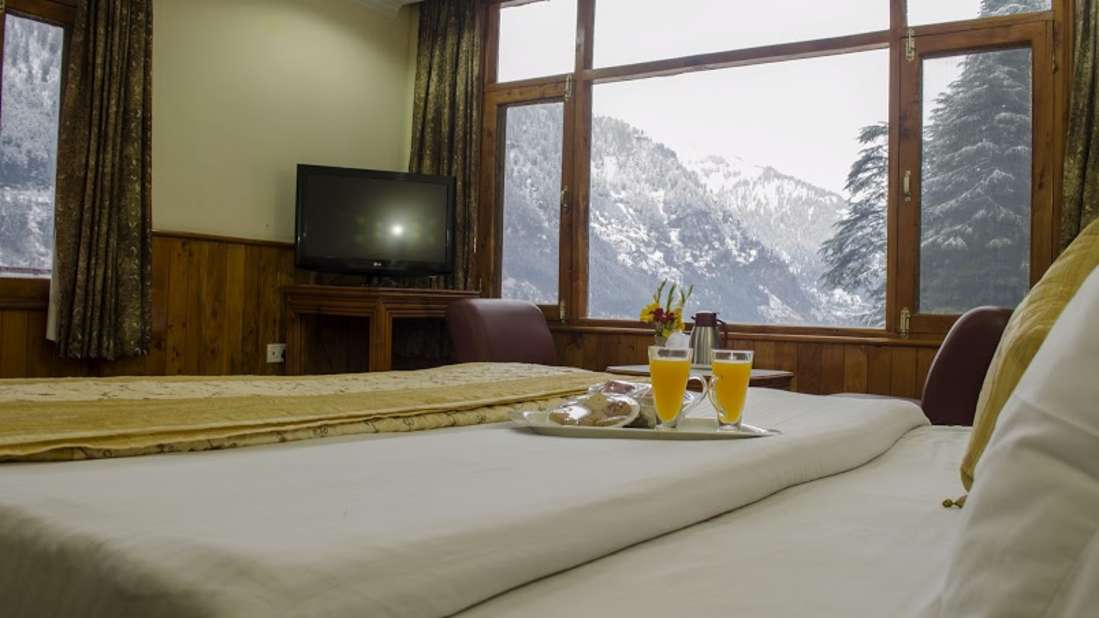Hotel Jupiter, Manali Manali HONEYMOON SUITE ROOM