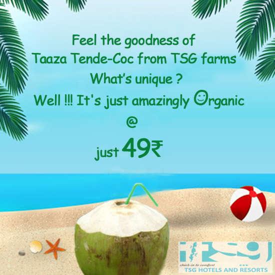 Aura Hotel, Neil Island, Andaman and Nicobar Islands  TSG Tende coco poster
