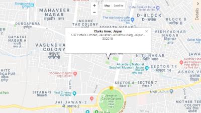 Location-Clark Amer Jaipur