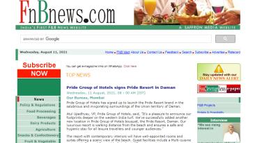 FNB-News-Pride-Group-of-Hotels-signs-Pride-Resort-in-Daman-FNB-News