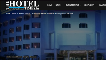 Pride-Group-of-Hotels-announces-launching-soon-of-the-Pride-Hotel-at-Udaipur-The-Hotel-Times