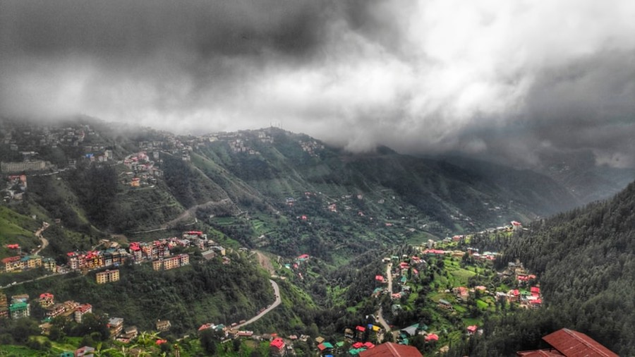 Shimla valley