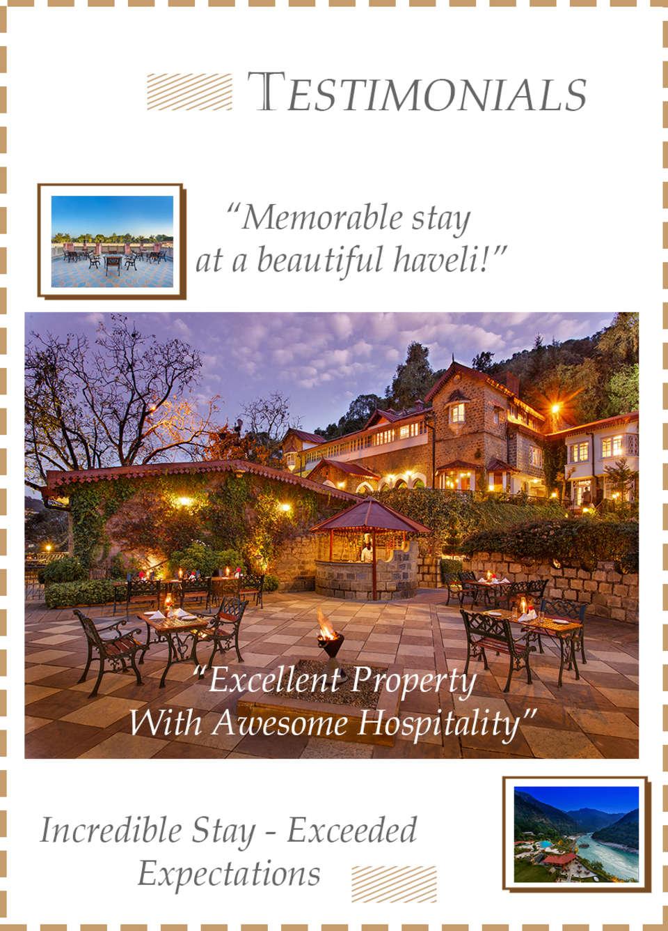 Leisure Hotels  Testimonials
