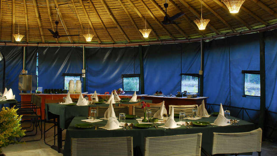 Dining at The Chardham Camps Uttarkashi By Leisure Hotels