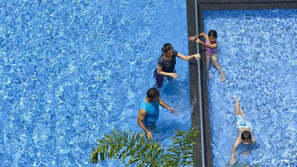 Swimming Pool at Wonderla Resort Bangalore