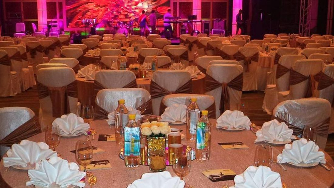 Grand Greens - Banquets and Meetings at The Grand Hotel New Delhi