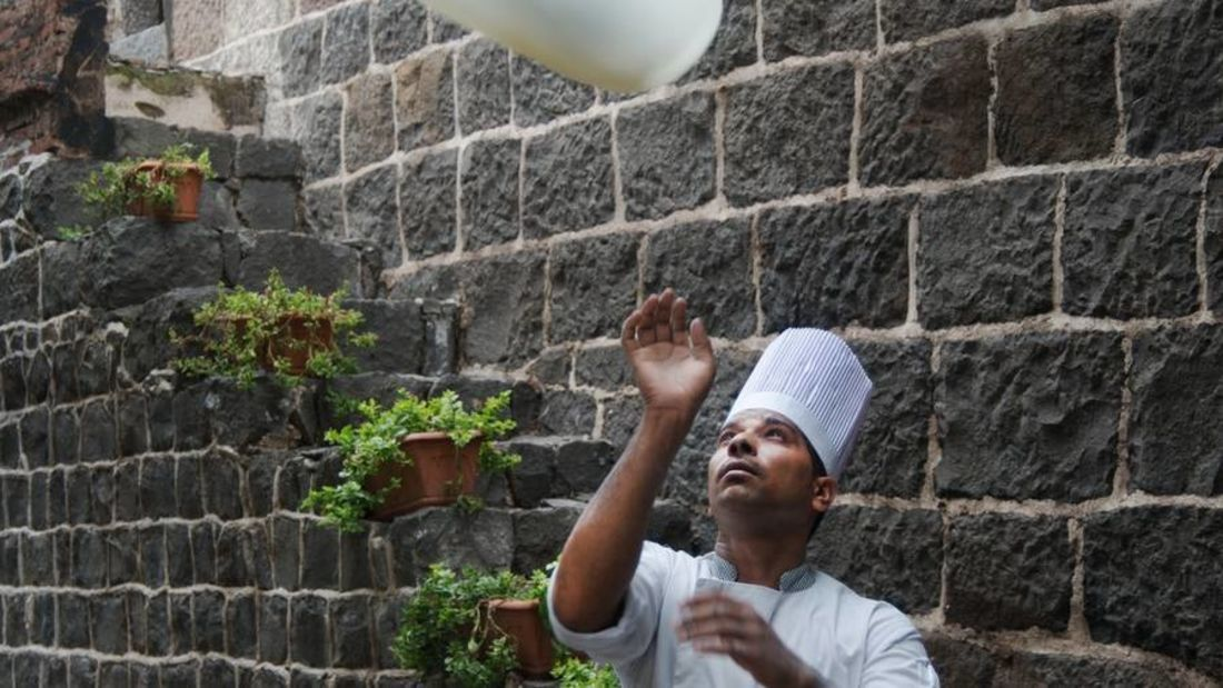 Aangan of  Fort Jadhavgadh Heritage Resort Hotel Pune