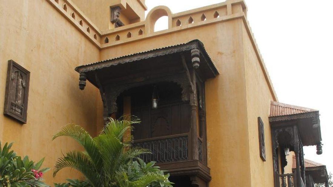Exterior View of  Fort Jadhavgadh Heritage Resor Hotel Pune - resort near Mumbai