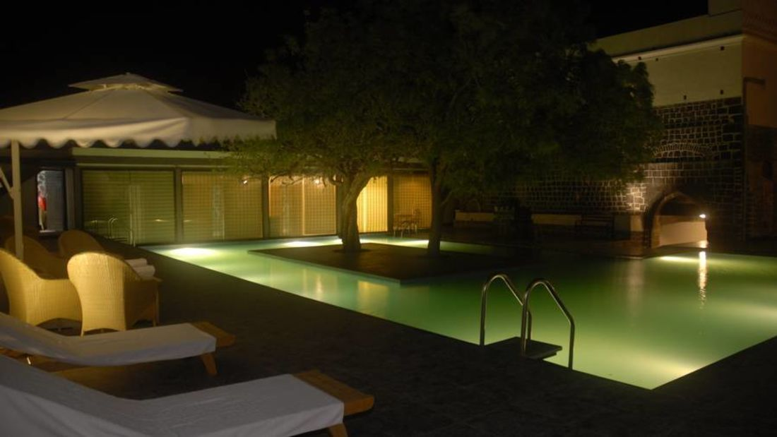 Swimiming Pool at Fort Jadhavgadh Heritage Resort Hotel Pune
