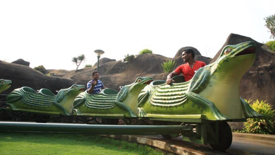 Kids Rides - Jumping Frog at Wonderla Kochi Amusement Park