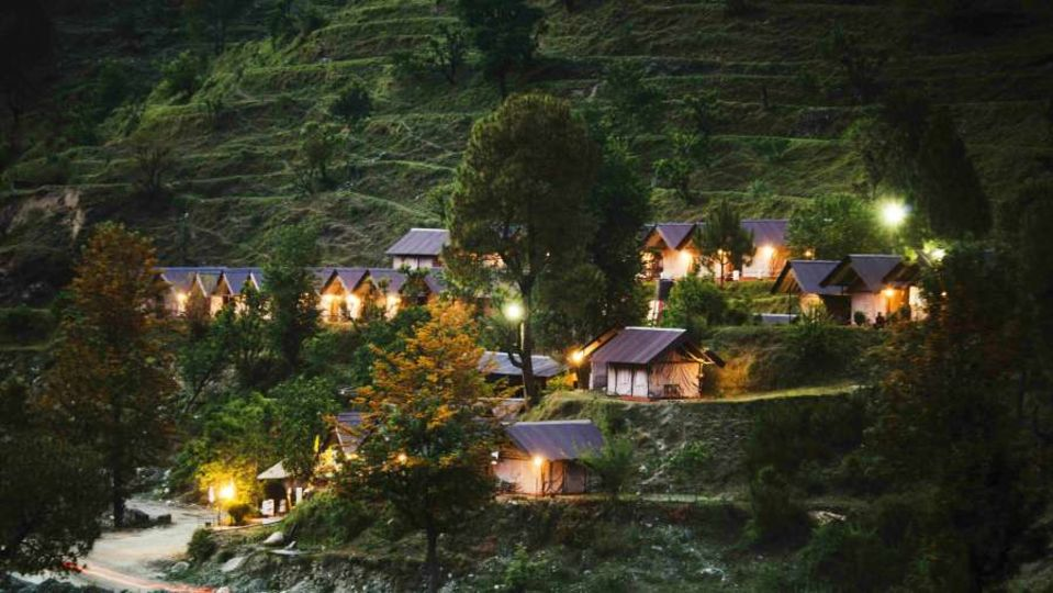 Yamunotri Gangotri Kedarnath Badrinath -The Chardham Camps