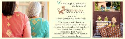 Neemrana Hotels  The Neemrana Shop - Hotels and Resorts in India