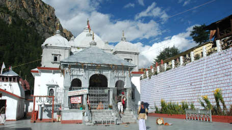 Gangotri-Temple  The Chardham Camps by Leisure Hotels
